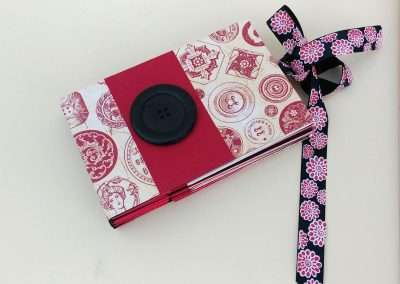 Book made with star and ribbon