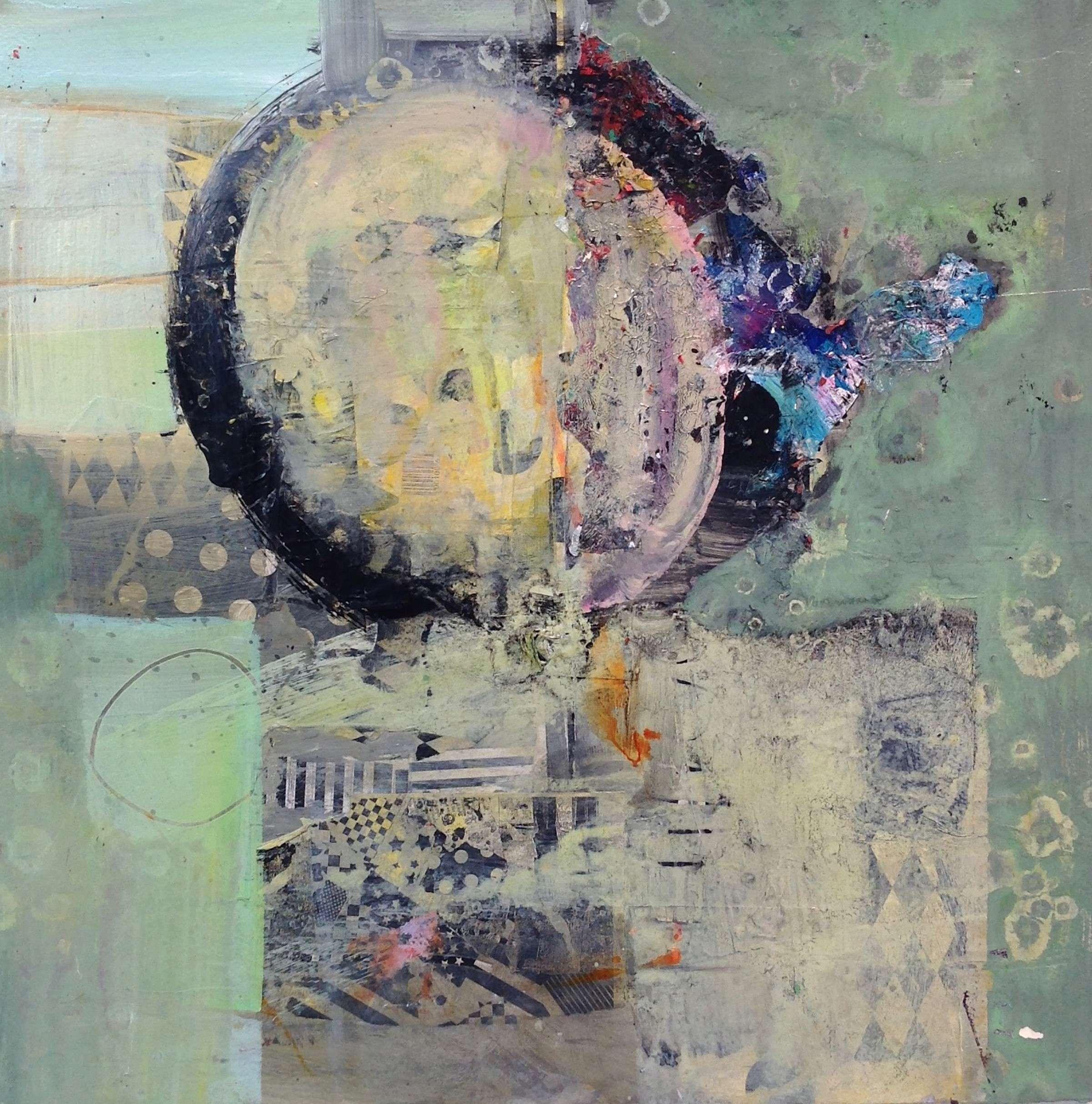 Robert Burridge Abstract Art in Muted Tones