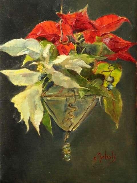 Pam Nichols Artist - Pointsettia