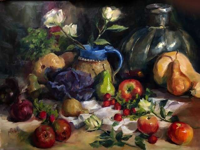 Still Life painting by Pam Nichols, Artist