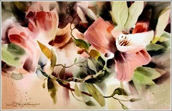 Sterling Edwards - Floral painting